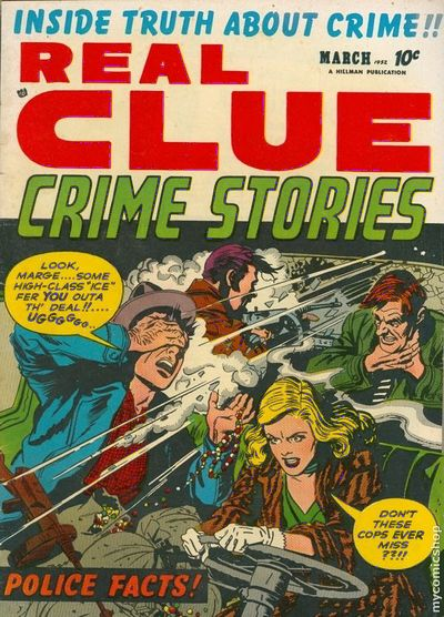 REAL CLUE CRIME STORIES Vol.7 #1