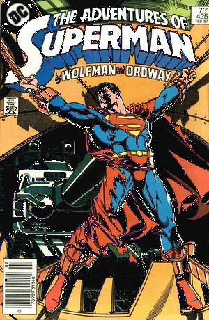 ADVENTURES OF SUPERMAN #425